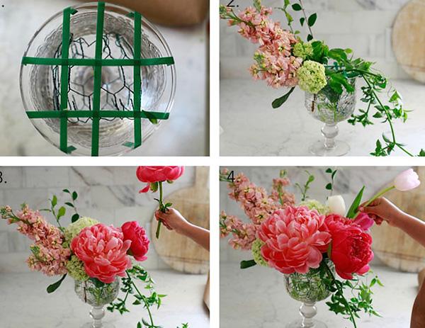 4 cách cắm hoa trang trí nhà đẹp mê mẩn - Ảnh 8.