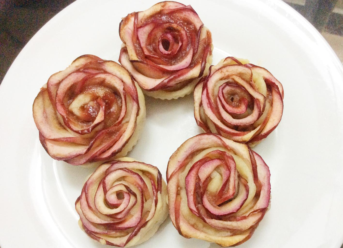bánh tart hoa hồng 5