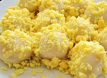 Bánh dày nhân đậu xanh đơn giản cho bữa sáng