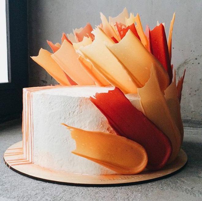 Chiêm ngưỡng tuyệt tác bánh ngọt - Brushstrokes cake đang gây bão mạng xã hội Instagram - Ảnh 9.