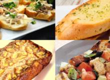 5 món siêu ngon từ bánh mì cũ