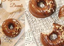 40 phút cho 6 chiếc bánh donut hạt phỉ nướng hấp dẫn