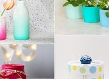 Những cách tái chế vỏ chai lọ siêu tiện ích cho bạn bỏ túi