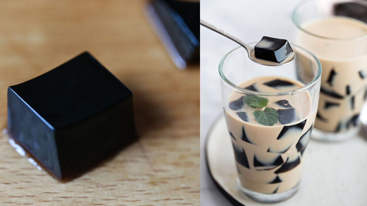 Tự nấu trà sữa thạch sương sáo Hồng Kông