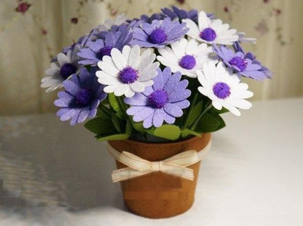 Xinh yêu chậu hoa cúc không bao giờ tàn - Ảnh 8.