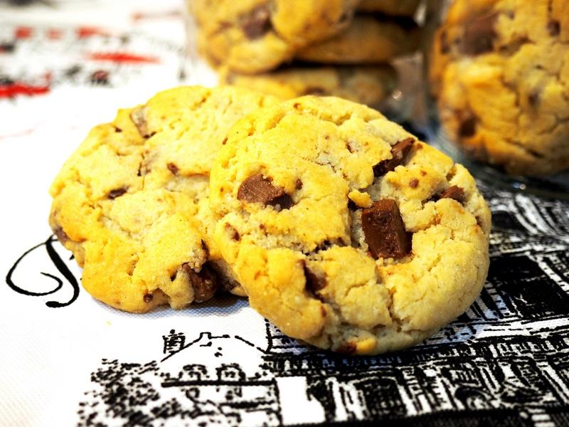 Làm bánh quy chocolate 2