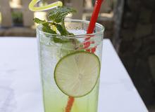 Soda táo xanh mát lạnh