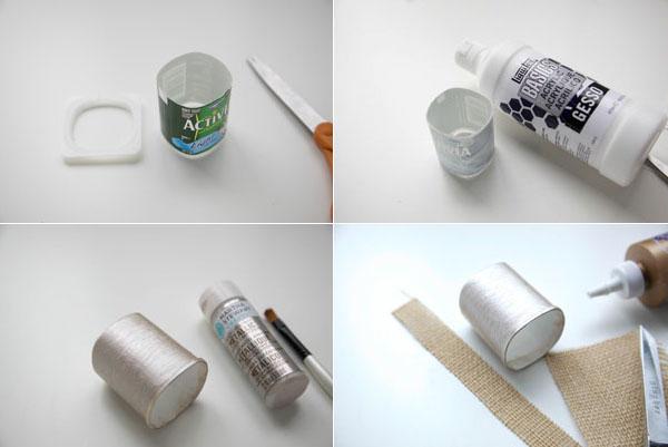 5 cách tái chế chai lọ thành bình cắm hoa đẹp siêu đơn giản - Ảnh 6.