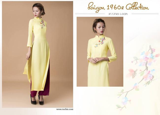 Du Xuân duyên dáng cùng những thiết kế áo dài truyền thống đến từ các thương hiệu Việt với giá chưa đến 3 triệu đồng - Ảnh 4.
