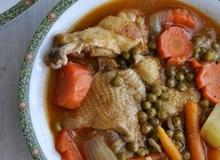 Cách làm gà nấu đậu ngon mềm khó cưỡng