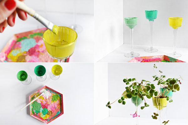 5 cách tái chế chai lọ thành bình cắm hoa đẹp siêu đơn giản - Ảnh 2.