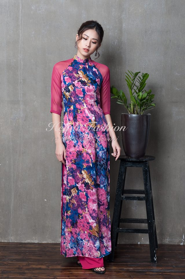 Du Xuân duyên dáng cùng những thiết kế áo dài truyền thống đến từ các thương hiệu Việt với giá chưa đến 3 triệu đồng - Ảnh 8.