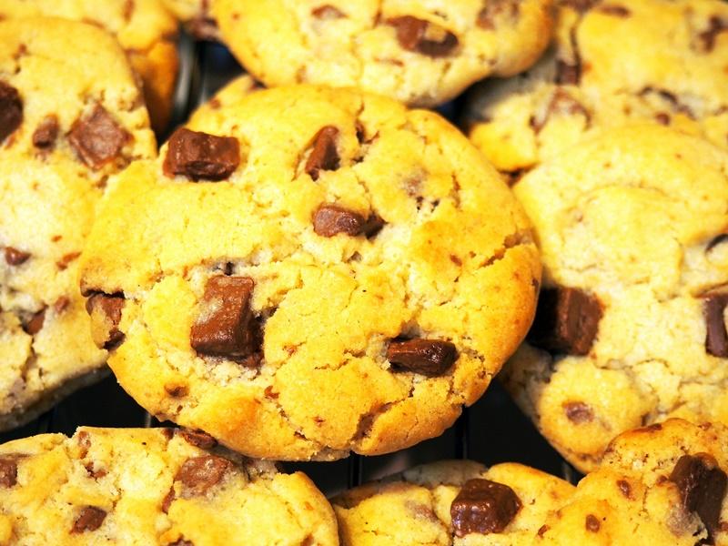 Làm bánh quy chocolate 1