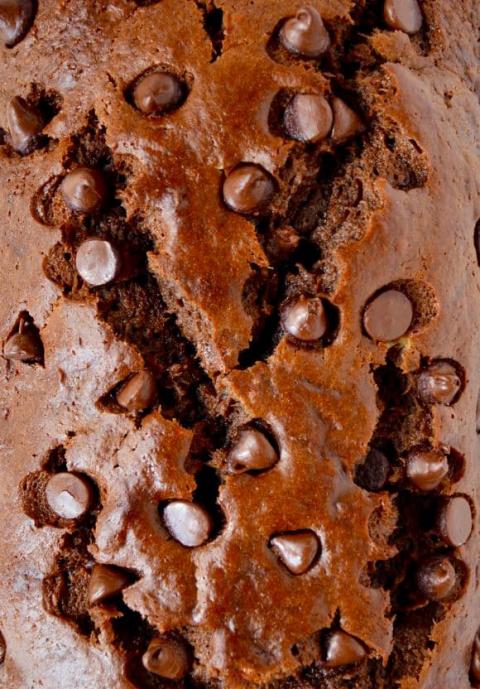 Bánh mì chuối chocolate chip ngon tan chảy 5