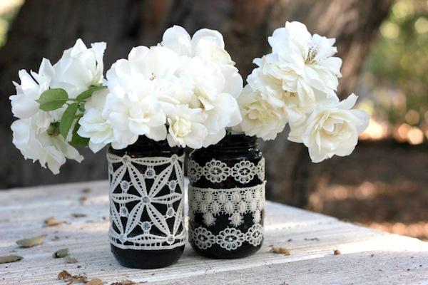 4 cách tái chế chai lọ cũ thành lọ cắm hoa xinh lung linh - Ảnh 9.