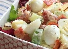 Salad khoai tây làm thế này ai không mê mới lạ