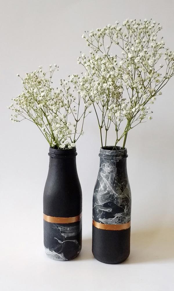4 cách tái chế chai lọ cũ thành lọ cắm hoa xinh lung linh - Ảnh 5.